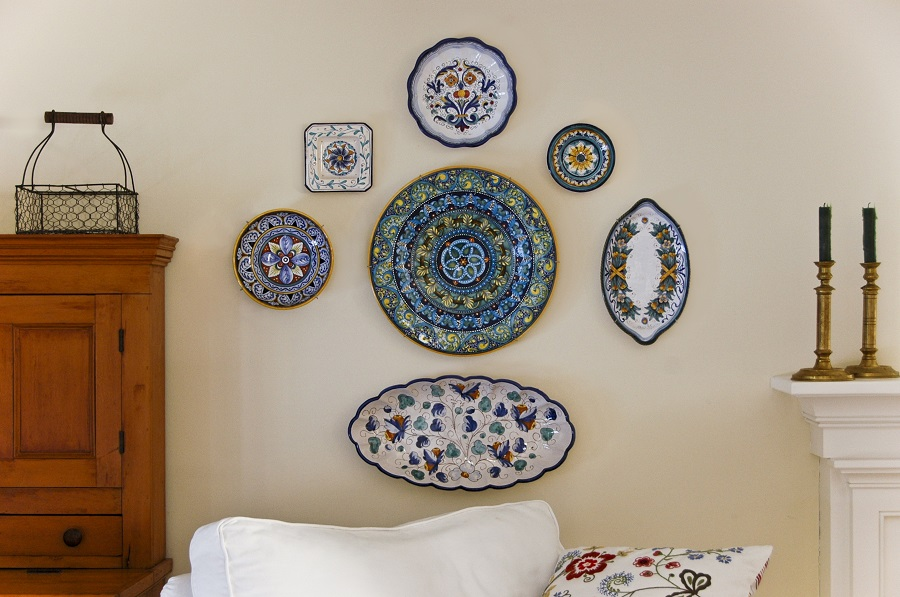 decorative display wall hanging system