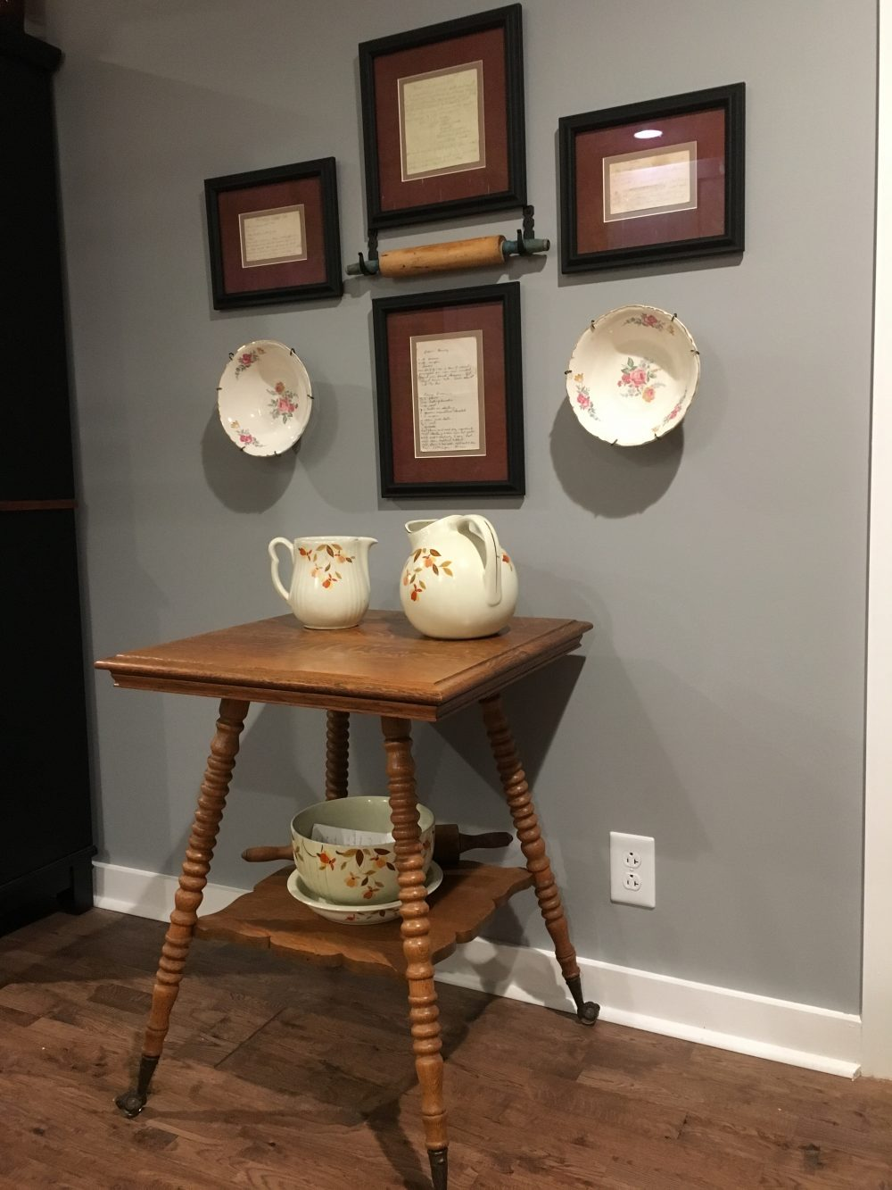 Brenda - A display of family heirlooms