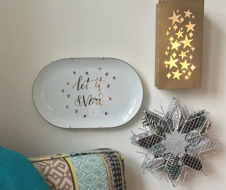 Wall Display Ideas for Winter